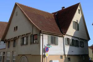 Vor der Sanierung: das über 500 Jahre alte Haus in Weinstadt-Schnait