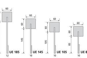 """Unterschiedliche Expandergrößen für unterschiedliche Anwendungen und Dämmstärken<span class=""""bildnachweis"""">Fotos / Grafik: Isofloc Gruppe</span>"""