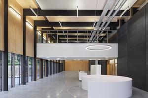 Der Neubau des Verwaltungsgebäudes der Deutschen Bundesstiftung Umwelt in Osnabrück. Er hat beim Holzbaupreis Niedersachsen den ersten Platz erreicht⇥