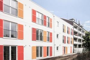 Menschengerechtes Bauen heißt auch, Anschluss an die normale WohnbebauungFoto: Meuer Architekten