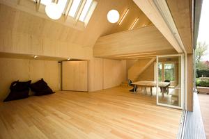 Das Holthuus auf Spiekeroog erhielt als eines von drei Gebäuden eine Anerkennung beim Holzbaupreis Niedersachsen