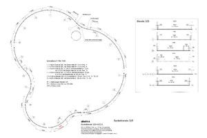 Mitgelieferter Montageplan für die Sockelblende am DachrandQuelle: Alwitra