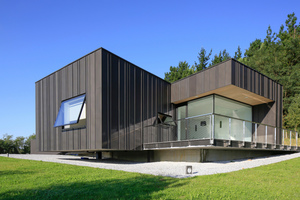 """Gewinner in der Kategorie """"Einfamilienhaus"""": Gebäude mit Zink-Fassade in Hondarribia, SpanienFoto: VMZinc, Essen"""