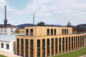Einen Sonderpreis für Baukultur gab es für das Kundenzentrum der Fagus-GreCon Greten GmbH &amp; Co. KG in Alfeld <br />