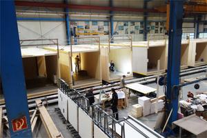 Die Kaufmann Bausysteme GmbH aus Reuthe in Österreich hat die Holzmodule für die Flüchtlingssiedlung in Hannover gebaut